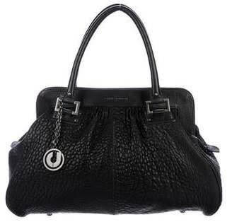 Charles Jourdan Grain Leather Handle Bag