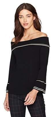 Max Studio Women's Solid Sweater