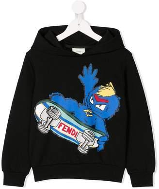 Fendi Kids monster hoodie