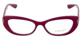 Versace Acetate Logo Eyeglasses