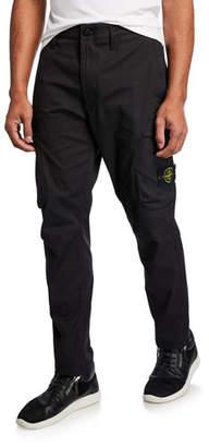 Stone Island Men's Modern Nylon Cargo Pants