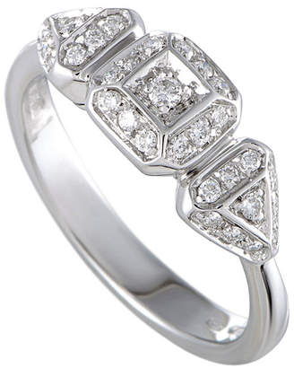 Damiani 18K 0.20 Ct. Tw. Diamond Ring