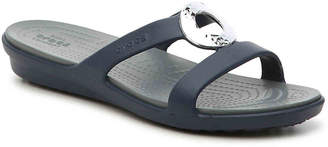 Crocs Sanrah Hammered Wedge Sandal - Women's