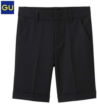 GU (ジーユー) - (GU)トラウザーハーフパンツ BLACK 120