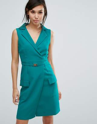 Vesper Tailored Sleeveless Dress $57 thestylecure.com
