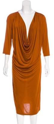 Givenchy Draped Knit Dress
