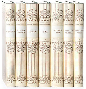 Set of 7 Vellum Jane Austen Book Set - Juniper Books