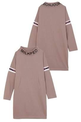 Milkfed. (ミルクフェド) - ミルクフェド LINE LOGO HIGH NECK DRESS