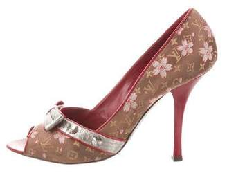 Louis Vuitton Cherry Blossom Slingback Pumps