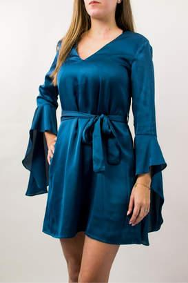Lumier Lumiere Dress Teal