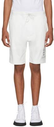 Y-3 White Logo Graphic Shorts