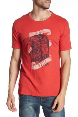 Lucky Brand Patriotic Graphic Tee Shirt