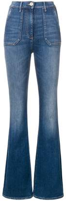 Elisabetta Franchi classic flared jeans