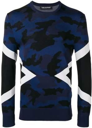 Neil Barrett slim fit sweatshirt