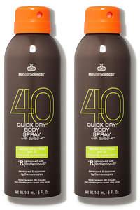 MDSolarSciences Quick Dry Body Spray SPF 40 Duo