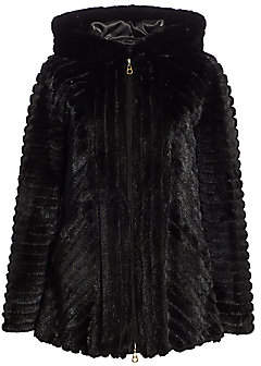 Zac Posen The Fur Salon Women's For The Fur Salon Hooded Mink Jacket