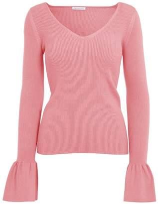 Minnie Rose Bell Sleeve Top