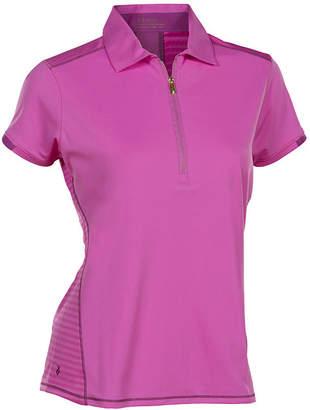 Asstd National Brand Nancy Lopez Golf Wicked Short Sleeve Plus Polo