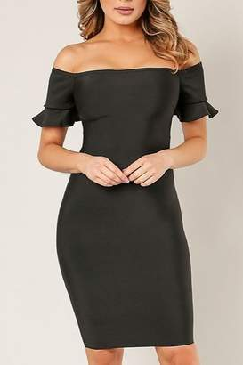 Wow Couture OTS Bandage Dress