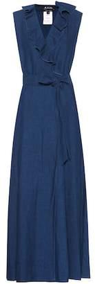 A.P.C. Ingrid cotton and linen dress
