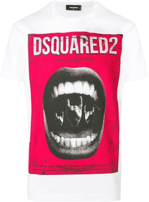 DSQUARED2 (ディースクエアード) - Dsquared2 プリント Tシャツ