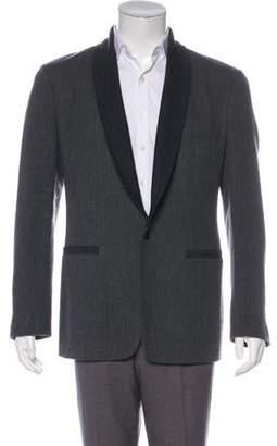 Viktor & Rolf Knit Virgin Wool Tuxedo Jacket