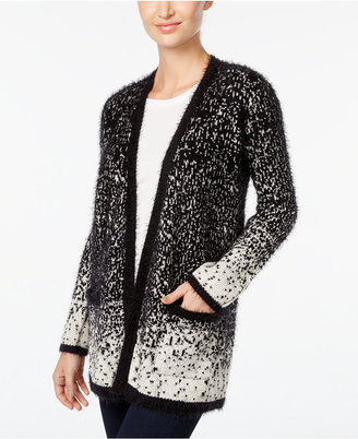 Style & Co. Open-Front Eyelash Cardigan, Only at Macy's $69.50 thestylecure.com