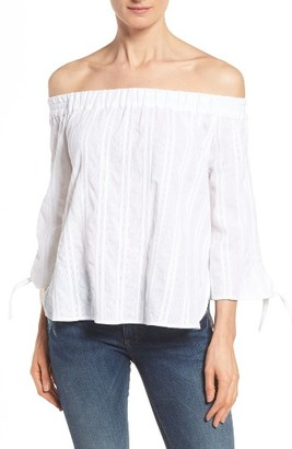 Women's Kut From The Kloth Alma Off The Shoulder Top $68 thestylecure.com