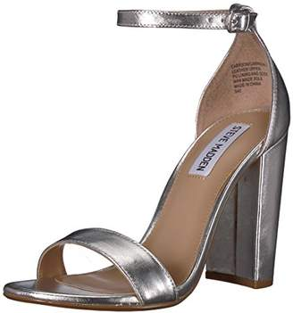 82ae4495471 Steve Madden Silver Women s Sandals - ShopStyle