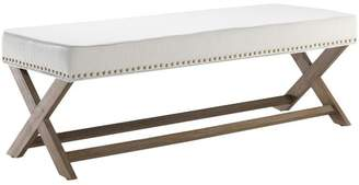 Amalfi by Rangoni White Dressing Bench