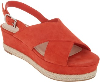 Marc Fisher Slingback Espadrille Wedges - Flama