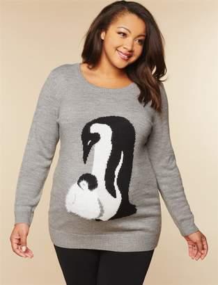 Original Penguin Motherhood Maternity Plus Size Maternity Sweater