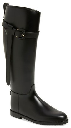 Burberry Roscot Waterproof Riding Boot (Women) $375 thestylecure.com