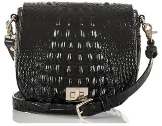 Brahmin Mini Sonny Leather Crossbody Bag - Black $225 thestylecure.com