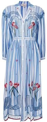 Temperley London Trelliage shirt dress