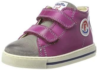 Mirtillo Falcotto Baby Girls' Michael Trainers, Pink 9104), 8/9UK Child