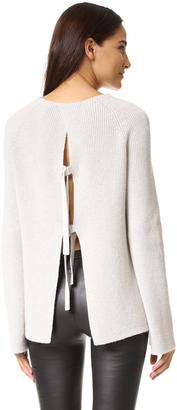 Helmut Lang T Back Sweater $415 thestylecure.com