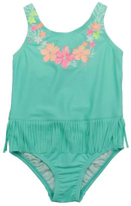 Carter's Toddler Girl Fringe Flower One-Piece Swimsuit