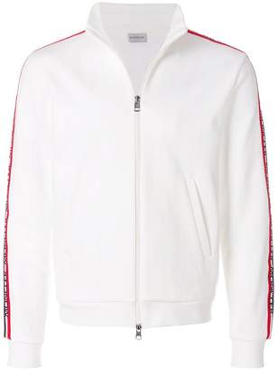 Moncler side stripe zip jacket