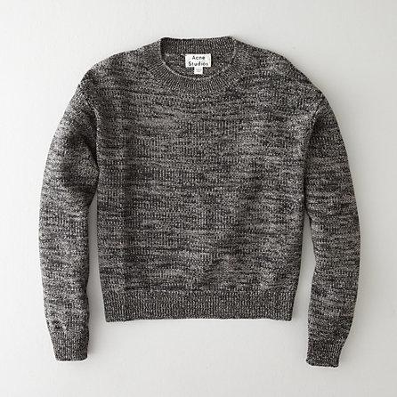 Acne Studios bird linen mix pullover