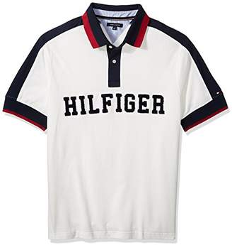 Tommy Hilfiger Men's Big and Tall Polo Shirt with Logo