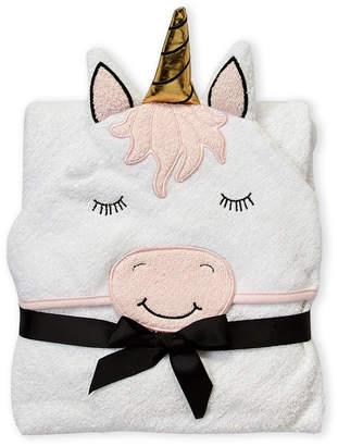 Hudson Baby Newborn/Infant Girls) Unicorn Hooded Towel