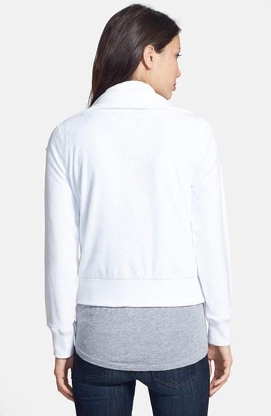 MICHAEL Michael Kors Front Zip Knit Jacket