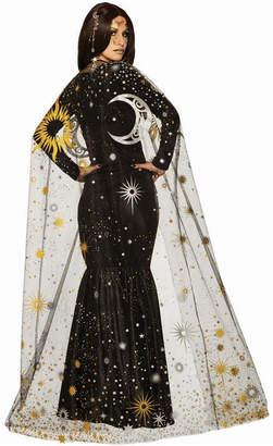 BuySeasons Women Sun Moon and Stars Cape