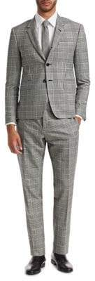 Thom Browne Regular-Fit Wool Plaid Suit