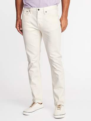 Old Navy Relaxed Slim Built-In Flex Clean-Slate Jeans for Men