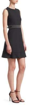 RED Valentino Cady Tech A-Line Dress