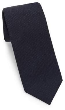Theory Wool Dot Print Tie