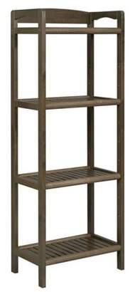 New Ridge Home Abingdon Tall Bookcase / Media Tower with Adjustable Shelves