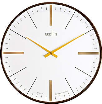 Acctim Govan Oversized Wall Clock, Dia.53cm, Brown